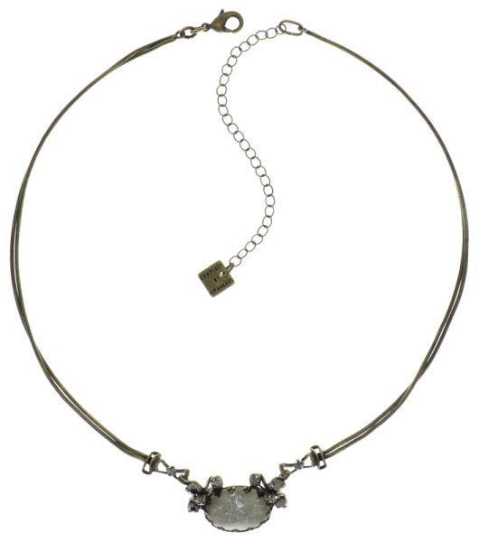 Konplott Dracula Bride Halskette in weiß #5450543687957