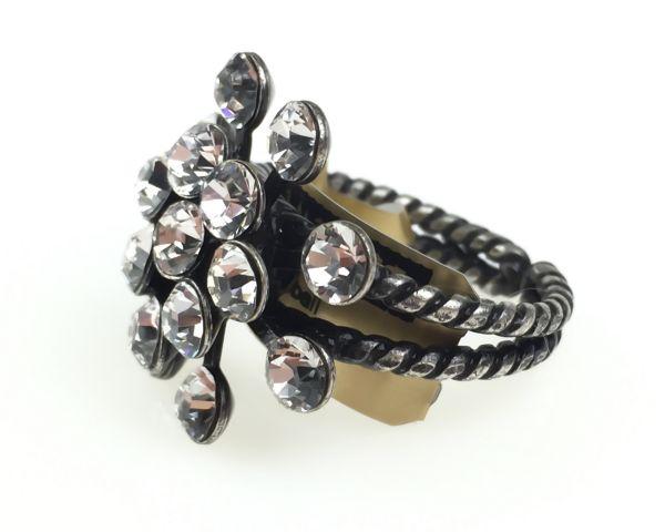 Konplott Magic Fireball 16 Stein Ring in crystal #5450527611640