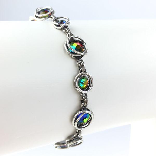 Konplott Sparkle Twist grün/vitrail Armband verschließbar #5450543470122