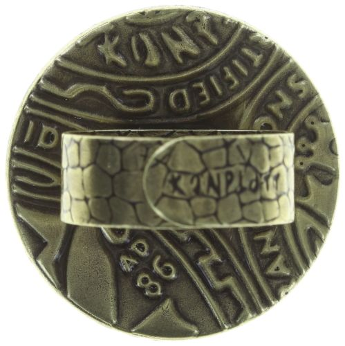 Konplott Studio 54 Ring in goldgelb Messing #5450543749099