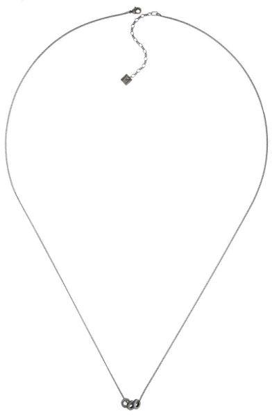 Konplott Colour Ring Halskette lang in sapphire blau/grün #5450543734286