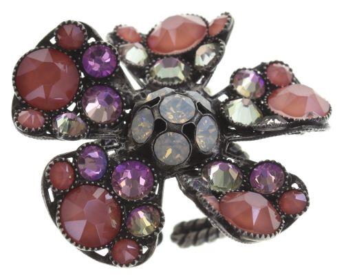 Konplott Lost Garden Ring pastel multi, Blume #5450543662619