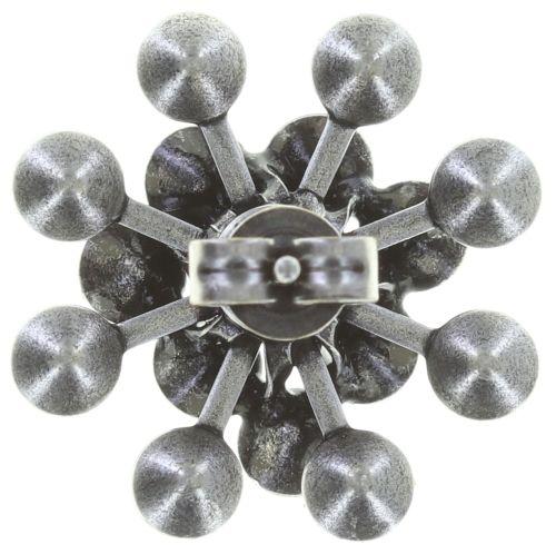 Konplott Magic Fireball Ohrstecker in Opal Weiß #5450543728117