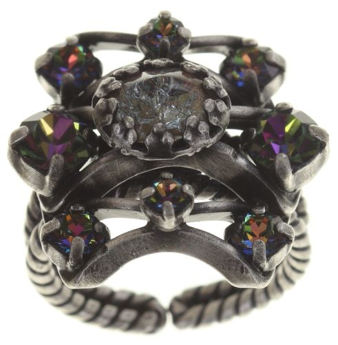 Konplott Dracula Bride Ring in hellblau #5450543687933