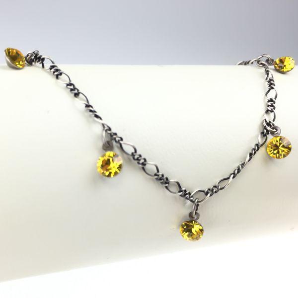 Konplott Tutui light topaz Armband verschließbar, gelb #5450527641364
