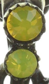 Konplott Sunflower Halskette lang mit Anhänger in gelb/weiß Größe M #5450543737652