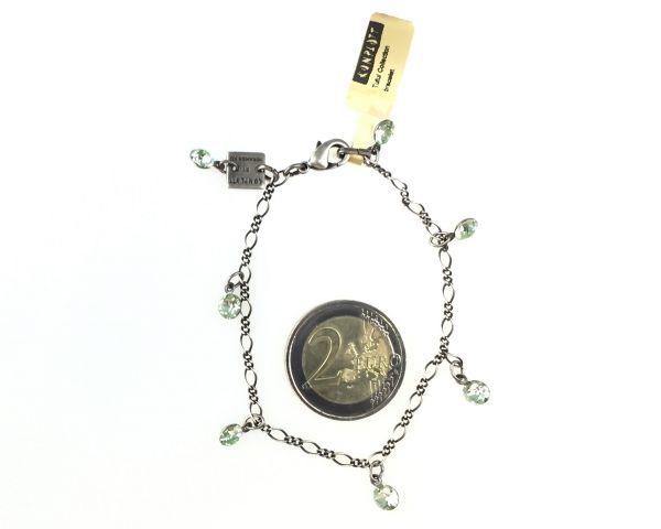 Konplott Tutui chrysolite Armband verschließbar, hellgrün #5450527591690