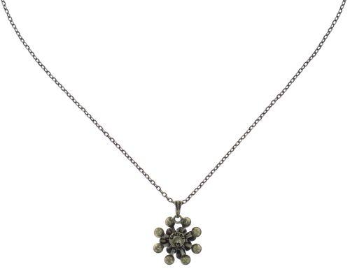 Konplott Magic Fireball Halskette mit Anhänger klassisch mini in grau #5450543754833