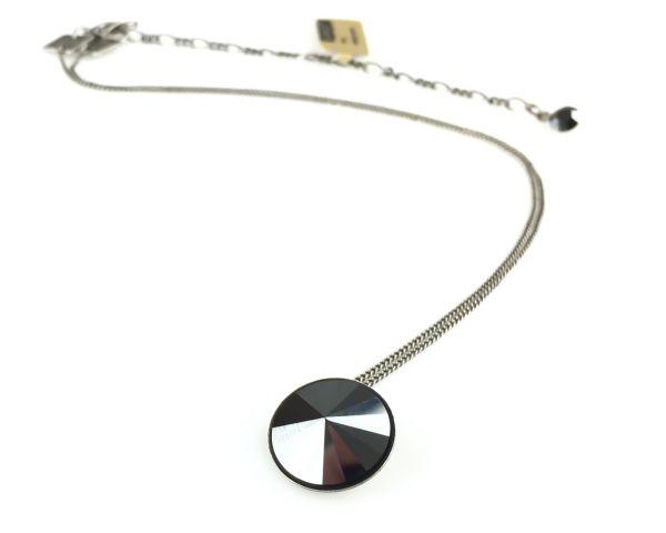 Konplott Rivoli schwarze Halskette mit Anhänger #5450527612852