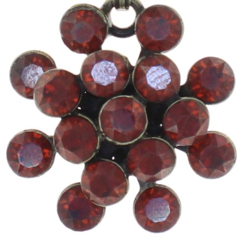 Konplott Magic Fireball Halskette mini in rot #5450543754932