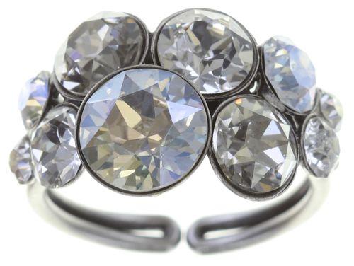 Konplott Petit Glamour Ring in weiß #5450543727363