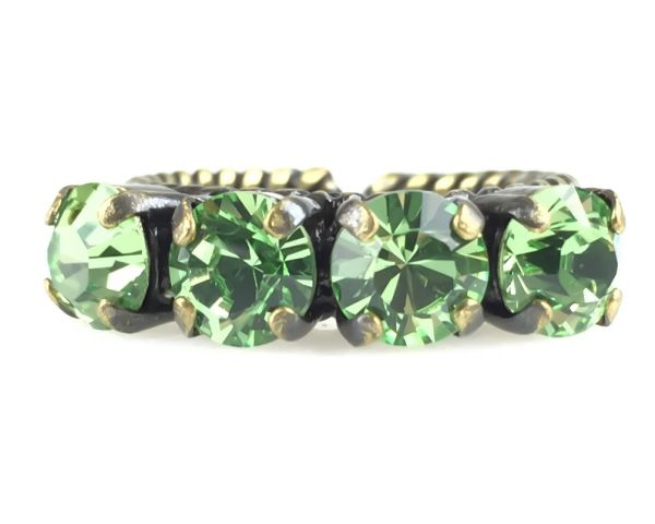 Konplott Colour Snake Ring in Peridot #5450527131148