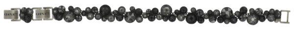 Konplott Water Cascade Armband schwarz antik silber #5450543686080