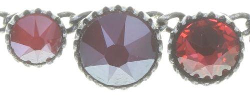 Konplott Water Cascade steinbesetzte Halskette in coralline #5450543772950