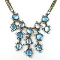 Konplott Melody Drops blaues Collier #5450527958684