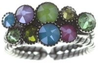 Konplott Water Cascade Ring in multi