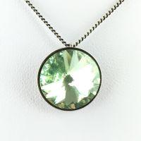 Konplott Rivoli chrysolite Halskette mit Anhänger hellgrün