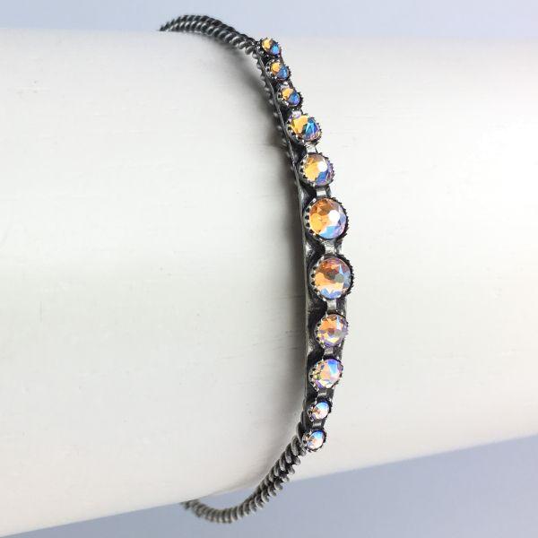 Konplott Global Glam De Luxe beiges Armband verschließbar #5450543641850