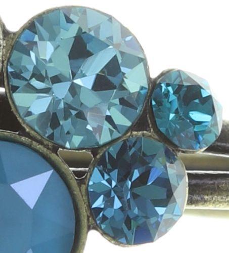 Konplott Petit Glamour Ring in blau/grün #5450543728315