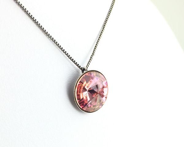 Konplott Rivoli light rose Halskette mit Anhänger #5450527640862