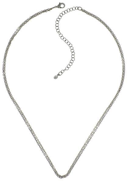 Konplott Zodiac Messing/Silber Halskette #5450543647425