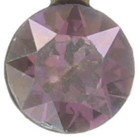 Konplott Magic Fireball Halskette mit Anhänger hell lila mini #5450543683249