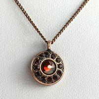 Konplott Spell on You Halskette mit Anhänger in rot #5450543627984