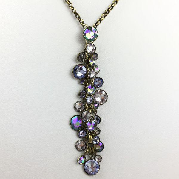 Konplott Waterfalls lila Halskette mit Anhänger #5450543469119