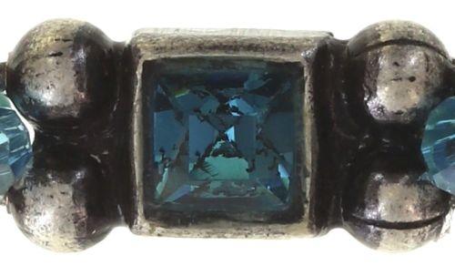 Konplott Bead Snakes elastisches Armband blau #5450543662350