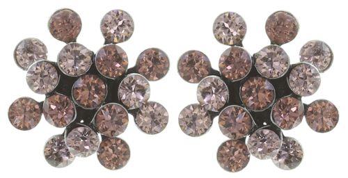 Konplott Magic Fireball Ohrstecker klassisch mini in pink/rosa #5450543754918