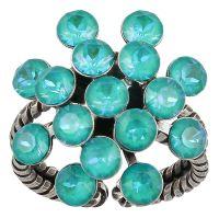 Magic Fireball Ring in water turquoise crystal laguna de lite