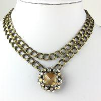 Konplott Caviar de Luxe beige Halskette mit Anhänger #5450543496429