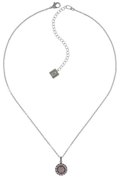 Konplott Simply Beautiful Halskette mit Anhänger in rosa #5450543745671