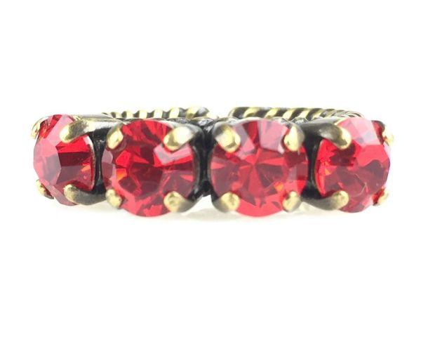 Konplott Colour Snake Ring in Light Siam, hellrot #5450527129121