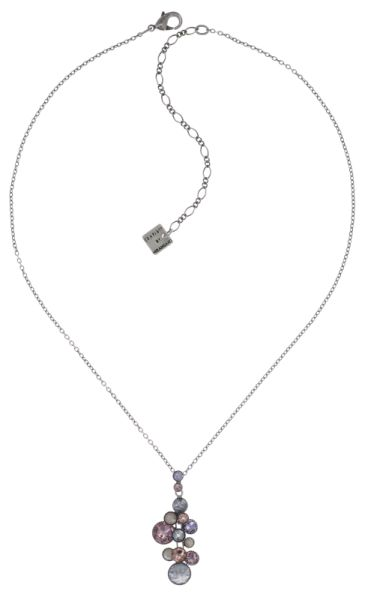 Konplott Water Cascade Halskette mit Anhänger in lila #5450543721750