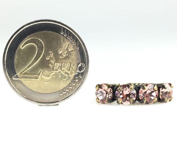 Konplott Colour Snake Ring in Vintage Rose #5450527640930