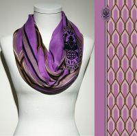 Konplott Schal Geometrisch 9 in lila