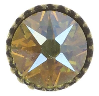 Konplott Black Jack Ohrstecker klassisch klein in gelb citrine shimmer #5450543649511