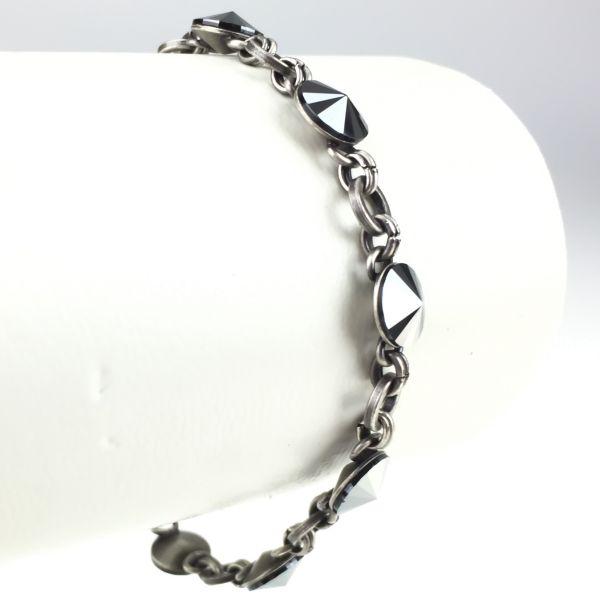 Konplott Rivoli schwarzes Armband verschließbar #5450527612784