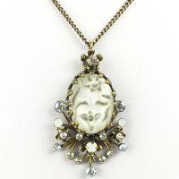 Konplott Eternal Glory weiße Halskette mit Anhänger #5450543463490