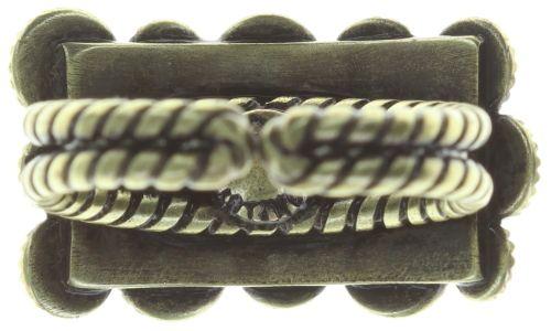 Konplott Inside Out Ring in gelb #5450543730592