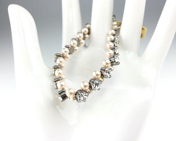 Konplott Pearl Shadow crystal Armband elastisch (M) #5450527444477