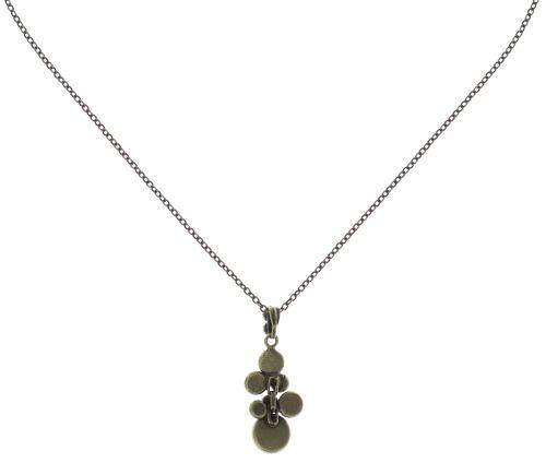 Konplott Water Cascade Halskette mit Anhänger in pastel multi #5450543685205
