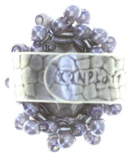 Konplott Kaleidoscope Illusion Ring in grau Größe S #5450543761848