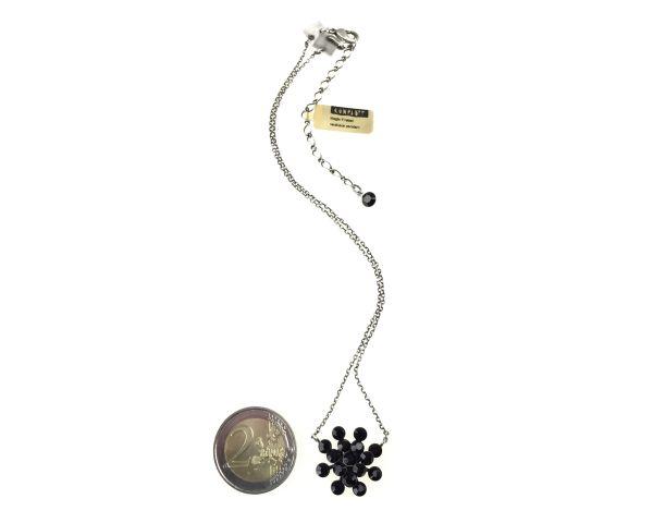Konplott Magic Fireball Halskette mit Anhänger in jet, schwarz #5450527612173