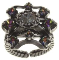 Konplott Dracula Bride Ring in hellblau #5450543687933