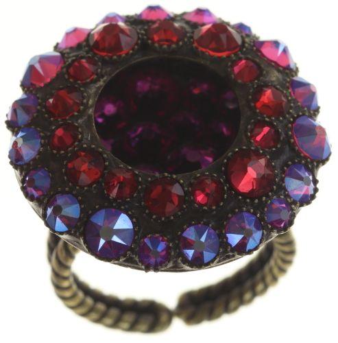Konplott Inside Out Ring Größe M in scarlet rot #5450543676005