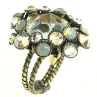 Konplott Caviar de Luxe beiger Ring #5450543496603