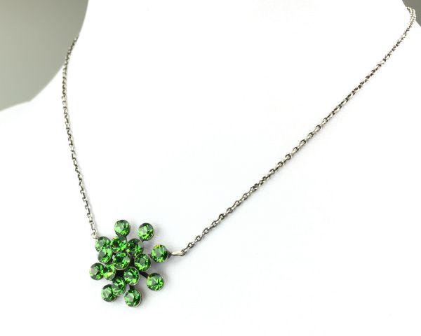 Konplott Magic Fireball Halskette mit Anhänger in Farn grün #5450527778251