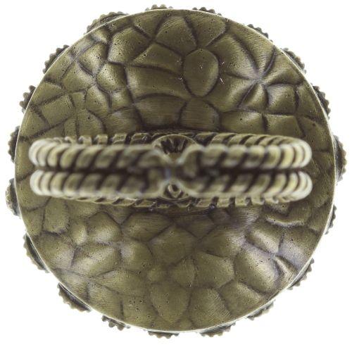 Konplott Inside Out Ring Größe M in braun #5450543638621